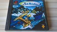 Jet Rider For Sony Playstation 1, PS1, Complete With Manual RARE Air bike jetski