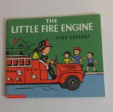 Lois Lenski The Little Fire Engine Paperback 2001 Scholastic Printing