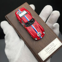 New 1/64 Scale MY64 250GTO S/N 3705 GT #19 LM 24H Le Mans 1962 Red Car model