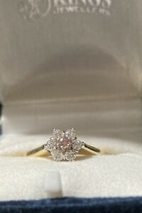 Argyle Pink & White Diamond Ring
