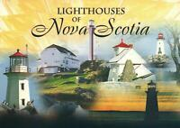 LIGHTHOUSES of NOVIA SCOTIA POSTCARD - NEW - MULTI-VIEWS