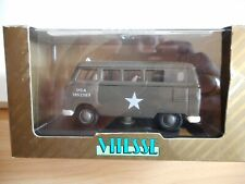Vitesse VW Volkswagen Transporter T1 US Army in Army Green on 1:43 in Box