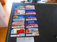 Lotto 10 Schede telefoniche Telecom