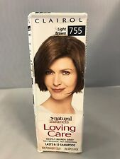 Clairol, Natural Instincts, Loving Care ~ Light Brown 755  *Distressed Packaging