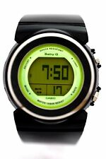 CASIO BGD100-1 BABY-G DIGITAL DIAL Round Black Resin Band