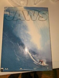 """Jaws Maui"" Surfing Photography Book Signed by Blue Max Patrick McFeeley"