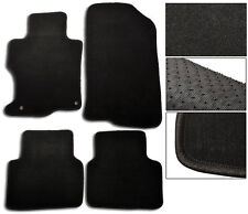 FIT FOR 2008-2012 Honda Accord Floor Mats Carpet Front & Rear Nylon Black 4PC