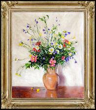 Johann Berthelsen Original Painting Oil On Canvas Signed New York Still Life SBO