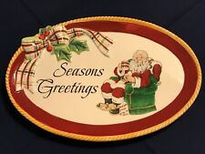 "Fitz and Floyd ""Dear Santa� Plate"