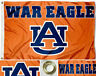 NEW Auburn Tigers War Eagle Flag Large 3'X5' Auburn Sports Fan FREE SHIPPING