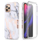 Case with Built-in Screen ProtectorFitFor iPhone Samsung Huawei Shockproof Cover