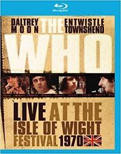 F2 BRAND NEW SEALED The Who - Live at the Isle of Wight Festival 1970 (Blu-Ray)