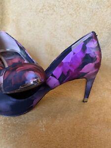 Ted Baker Floral Court Shoe Size 6