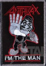 Anthrax I 'm The Man Patch/ricamate 601975 #