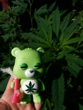 Custom Painted WITH YOUR NAME ON BOX Pot 420 Weed High FUNKO POP Care Bear