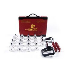 Ship from USA Hansol 19PCS Cup Massage Professional Cupping Vacuum Therapy SET
