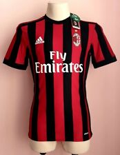 AC Milan 2017-2018 Home football Adizero Player Issue authentic shirt *W/TAGS* S