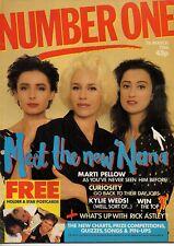 Bananarama on Magazine Cover 1988    Kylie Minogue   Wet Wet Wet    Patsy Kensit