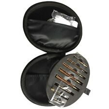 Gun Cleaning Kit Set Copper Brush Jags and Tips Black Box Packed for Rifle Clean