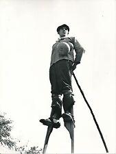Berger Landais c. 1935 -  Berger sur ses Échasses  Landes - Div 10686