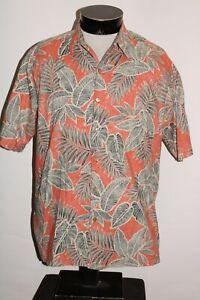 TORI RICHARD Mens medium M Island Button-up shirt Combine ship Discount