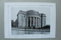 BB1) Architektur Oskar Kaufmann 1928 Berlin Neue Freie Volksbühne Straßenansicht