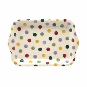 Emma Bridgewater - Small Melamine Rectangular Tray - 22 x 14.5cms - Polka Dots