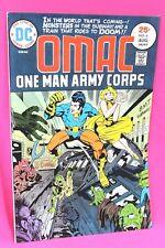 OMAC #6 One Man Army Corps Doom Train Jack Kirby Comic DC Comics F-/F