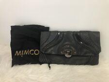 Mimco Clutch Bag Patent Premium Leather