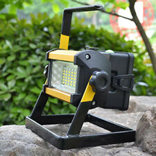 50W 36 LED Rechargeable  Portable Outdoor Camping Flood Light Spot Work Lamp UK