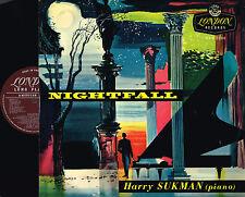 HARRY SUKMAN Piano NIGHTFALL LP Steinway Concert Grand LONDON RECORDS HA-U2006