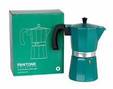 PANTONE UNIVERSE 9 Cup Percolator Coffee Maker - Emerald Green 569 - BRAND NEW