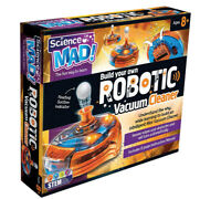 Science Mad Build Your Own Robotic Vacuum Cleaner Kit
