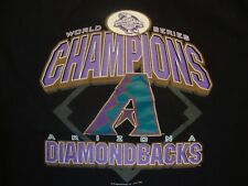 Arizona Diamondbacks T Shirt Size XL World Series 2001 Champions Vintage