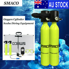 AU SMACO 2X Oxygen Air Tank MINI Portable Scuba Diving Equipment Spare Breath