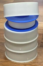 """4 Rolls Ptfe Teflon Pipe Fitting Thread Seal Tape 1/2"""" x 42ft for Plumbing Water"""
