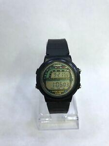 Casio TRW-21 Digital Watch Vintage Rare 861 Tachy Meter WR 50M Year 1989 TRW21