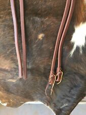 Usa Hermann Oak Heavy Harness Leather 5/8� X 8' Pre-Oiled & Ready To Show
