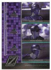 2005 ZENITH MOZAICS Shawn Green/Troy Glaus/Luis Gonzalez #M7