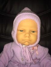 Vtg 1984 Berjusa Newborn Vinyl & Cloth Baby Doll 20� Reborn Play
