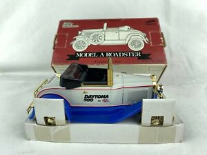 Racing Champions Ford Model A Roadster Lockable Coin Bank Mail Away