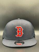 Boston Red Sox Classic Trucker New Era 9FIFTY Snapback Original Fit - Navy