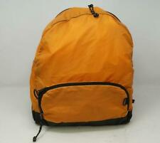 L L Bean Nylon Backpack Day Pack Hiking Yellow