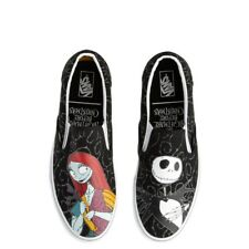 NEW Vans x The Nightmare Before Christmas Slip On Jack & Sally Skate Shoe men sz