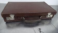 Antiker Kinderkoffer Leder Koffer Oldtimer Köfferchen Lederkoffer Reisekoffer
