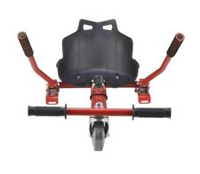 """Red Attachment Go Kart Seat Holder for 6.5"""" 8"""" 10"""" balance scooter"""