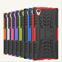 Heavy Duty Armor Hybrid Hard Case Cover For Sony Xperia L1, G3311 G3313