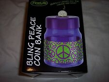 FineLife Bling Peace Coin Bank,LED Display Keeps Track of Savings