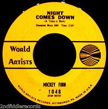MICKEY FINN-This Sporting Life-Rare Psych Fuzz Freakbeat 45-WORLD ARTISTS 1048