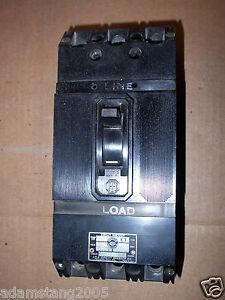ITE GE ET 70 F FRAME ET 70 amp 250V 3 pole CIRCUIT Breaker ET4026